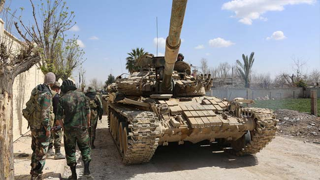 MoD Says Syrian Army Foils Massive Nusra Assault in Hama: 100 Militants Killed, Injured