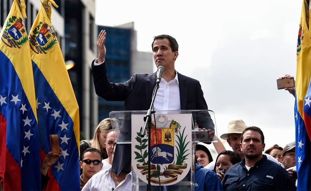 Venezuela's Guaido Says He's Working to Restore Ties with Zionist Entity