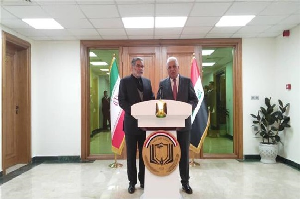 Iraq says will not forget Iran's aid as security chief visits Baghdad