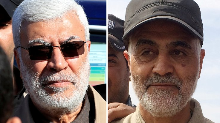Commander of Iran's Quds Force, Iraq's PMU deputy head assassinated in US strike