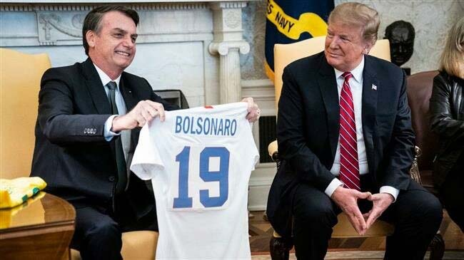 Brazil's Bolsonaro admits working with US to oust Maduro
