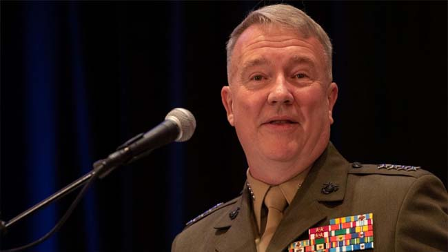CENTCOM Commander: Military Action in Persian Gulf Caused Iranians to Back up 'a Little Bit'