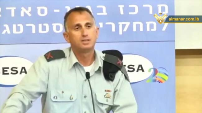 Israeli Intelligence Chief: Hezbollah Improved Fighting Capacities, Syrian Army Recovery Faster than Expected