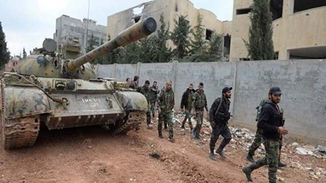 Over 130 Terrorists Killed in Foiled Attacks on Syrian Army Positions in Hama