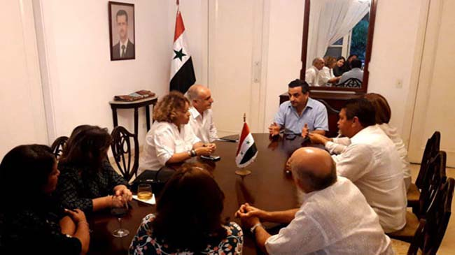 Cuban journalists affirm Syria's victory over terrorism